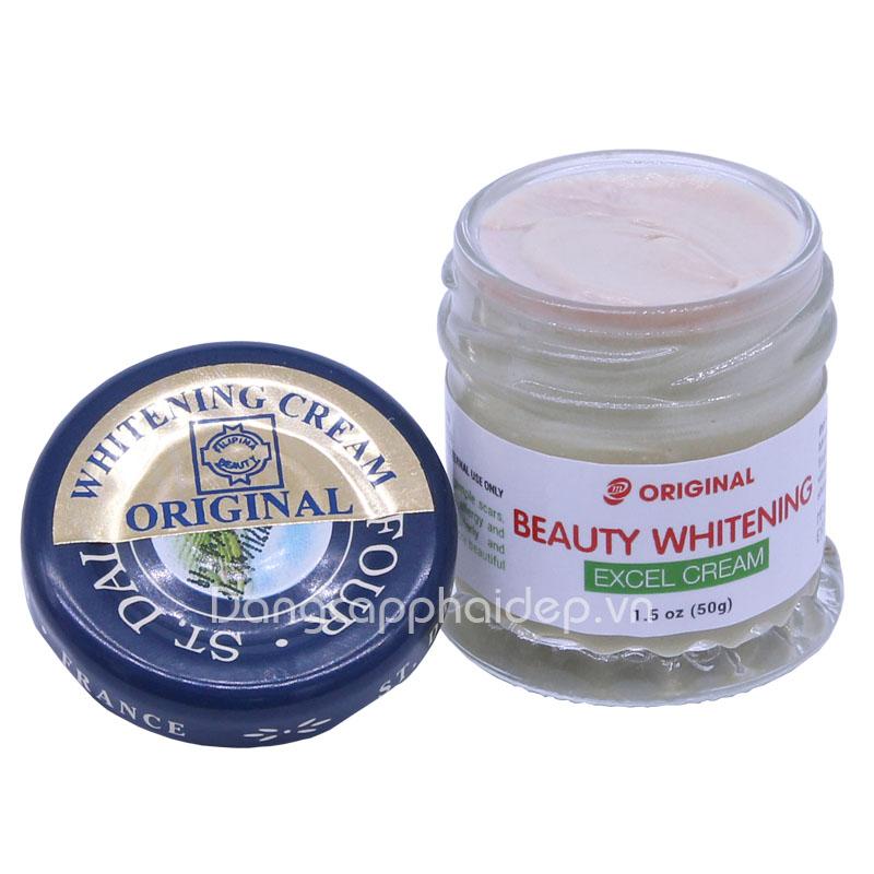 Kem Dưỡng Trắng Da Mặt Từ Thiên Nhiên St Dalfour Beauty Whitening Excel Cream