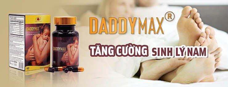 Viên Uống Tăng Cường Sinh Lý Daddy Max