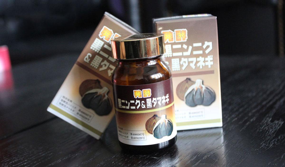 Tỏi đen và hành đen Nhật Bản ngăn ngừa đột quỵ