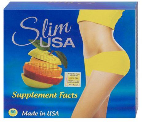 Giảm cân cực mạnh Slim USA