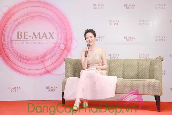 Hoa hậu Thu Thủy chia sẻ về Be-Max.