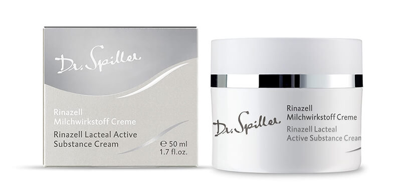 Kem dưỡng phục hồi sáng hồng da Dr Spiller Rinazell Lacteal Active Substance Cream