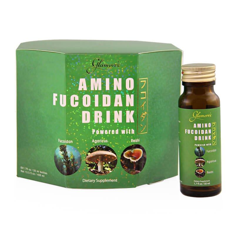 Nước uống tăng cường sức khỏe Nhật Bản Amino Fucoidan Drink