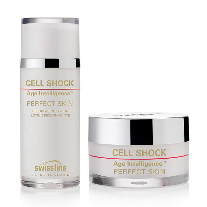 Liệu pháp thay da hoàn mỹ Swissline Cell Shock Age Intelligence Perfect Skin - MS 1182