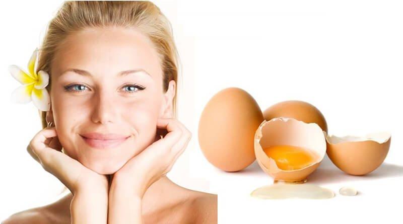 Bí quyết làm trắng da bằng trứng gà