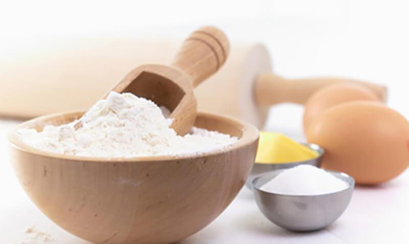 Công thức làm trắng da bằng bột mì