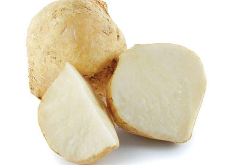 Công thức làm trắng da bằng củ đậu