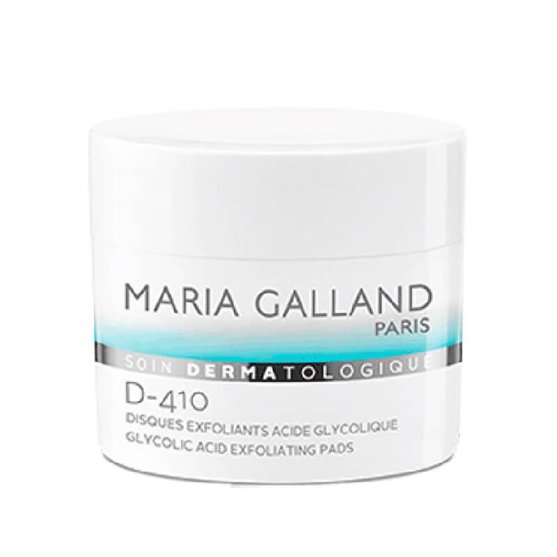 Cotton cân bằng và tẩy da chết Maria Galland D410 Glycolic Acid Exfoliating Pads