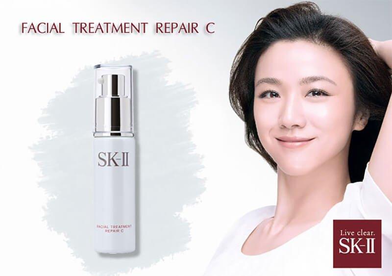 Serum dưỡng trắng chống lão hóa tái tạo da SK-II Facial Treatment Repair C