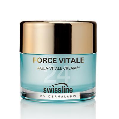 Kem Tiếp Nước Cấp Tốc Swissline Aqua-Vitale Cream 24h Hồi Sinh Làn Da - REF 1120