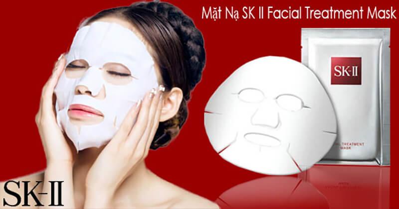 mặt nạ dưỡng trắng da chống lão hóa Nhật Bản SK-II Facial Treatment Mask