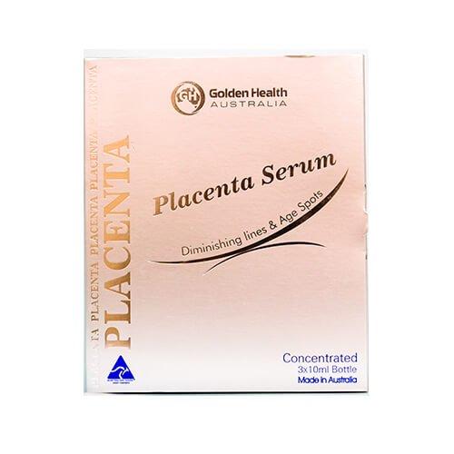 Tinh Chất Nhau Thai Cừu Golden Health Concentrated Placenta Serum Trị Nám và Trắng da