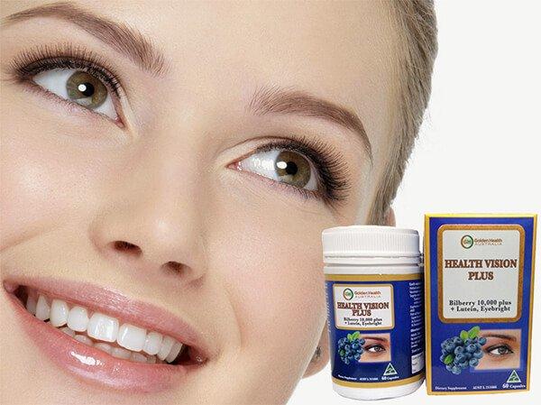 Viên uống bổ mắt Golden Health Health Vision Plus