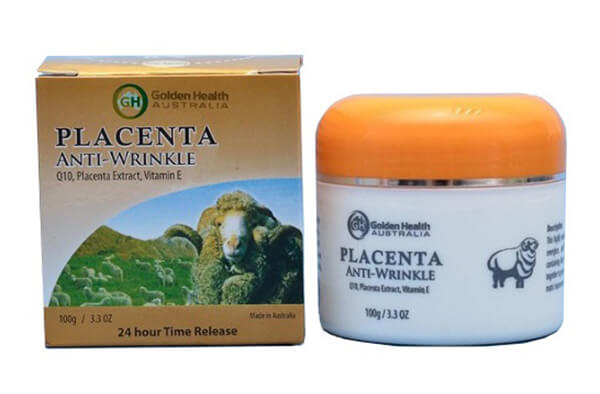 Kem nhau thai cừuGolden Health Placenta Anti-Wrinkle của Úc