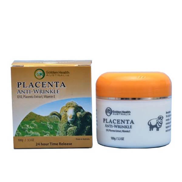 Kem Nhau Thai Cừu Golden Health Placenta Anti-Wrinkle Của Úc
