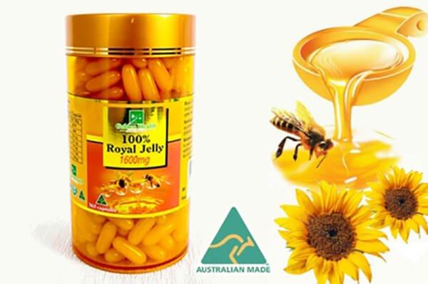 Sữa ong chúa Golden Health của Úc
