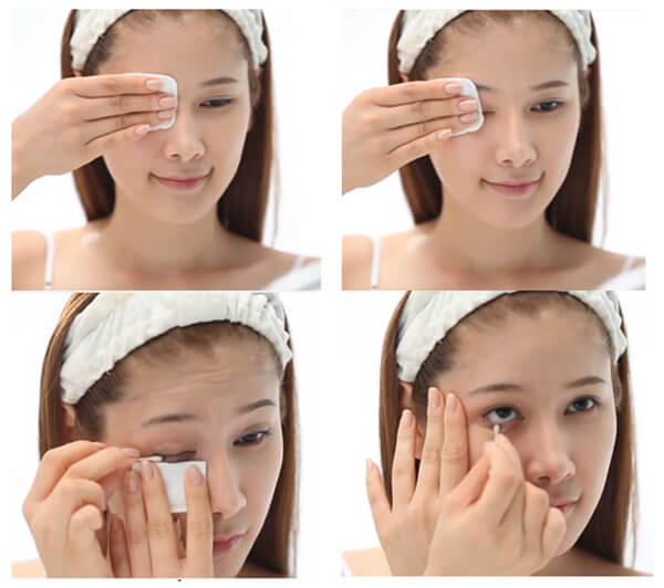 Tẩy Trang Swissline Water Shock Bi-Phase Make up Remover Dành Cho Mắt Và Môi