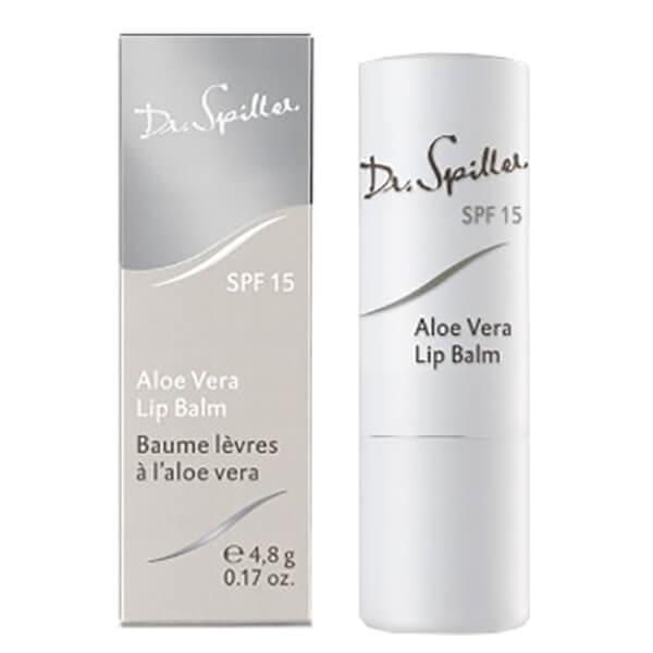 Son dưỡng chống nắng Dr Spiller Aloe vera Lip Balm SPF 15
