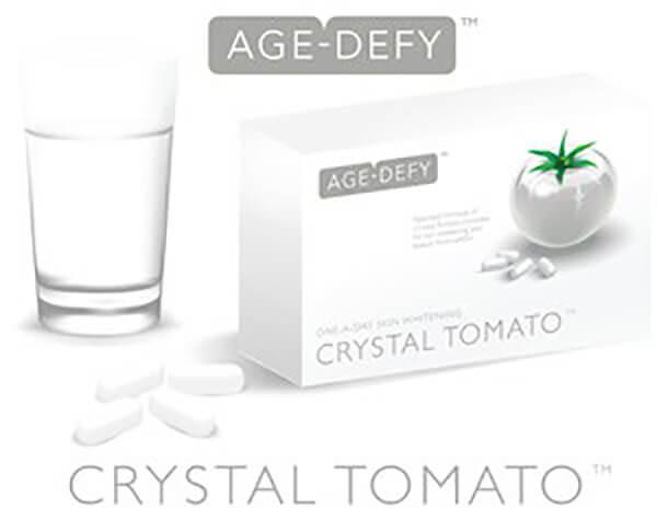 Cách sử dụng viên uống trắng da Crystal Tomato
