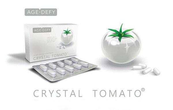 bí quyết làm đẹp da với Crystal Tomato