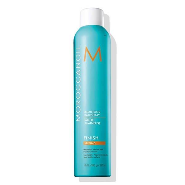 Xịt Bóng Giữ Nếp Chắc Moroccanoil Luminous Hairspray Strong