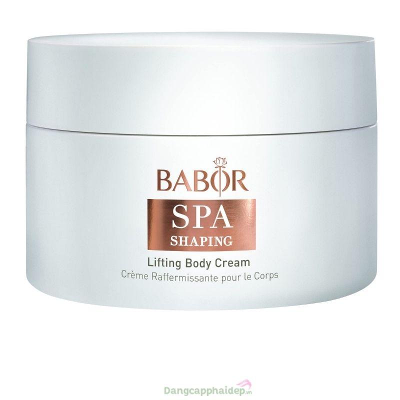 Babor Lifting Body Cream - Kem săn chắc da & ngăn ngừa lão hóa