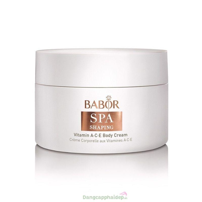 Babor Vitamin A-C-E Body Cream – Kem tái tạo da chống lão hóa sớm