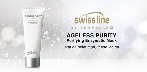 Swissline Ageless Purity Purifying Enzymatic Mask
