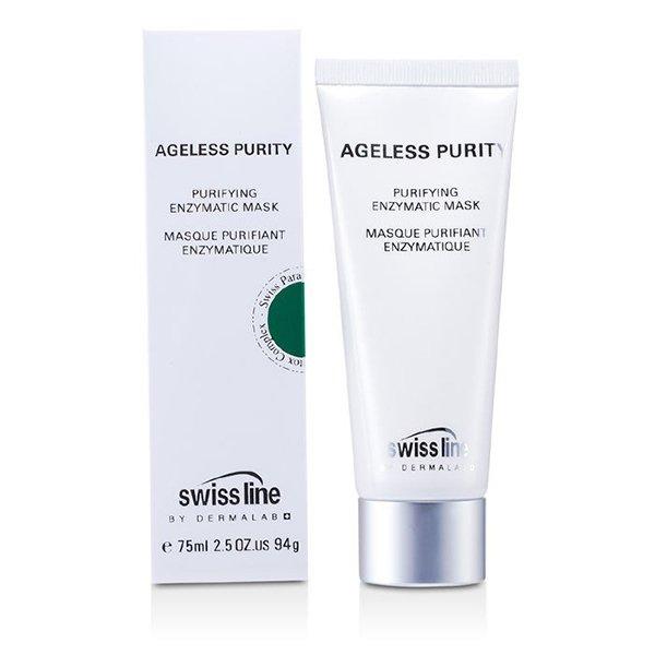 Swissline Ageless Purity Purifying Enzymatic Mask 75ml - Mặt nạ enzyme giảm mụn hoàn hảo