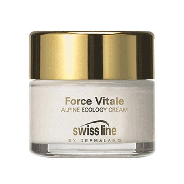 Kem sinh học hồi sinh da lão hóa Swissline Force Vitale Alpine Ecology Cream 50 ml