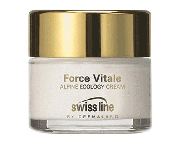 Kem sinh học hồi sinh da lão hóa Swissline Force Vitale Alpine Ecology Cream