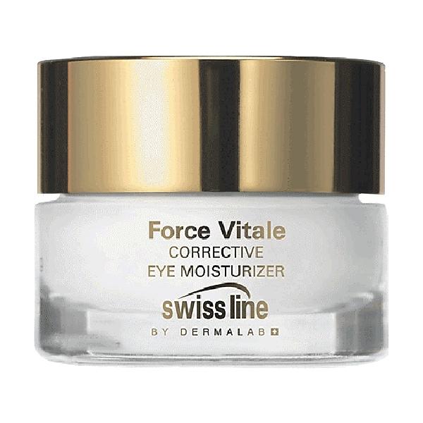 Kem điều chỉnh độ ẩm và nếp nhăn vùng mắt Swissline Force Vitale Corrective Eye Moisturizer 15 ml