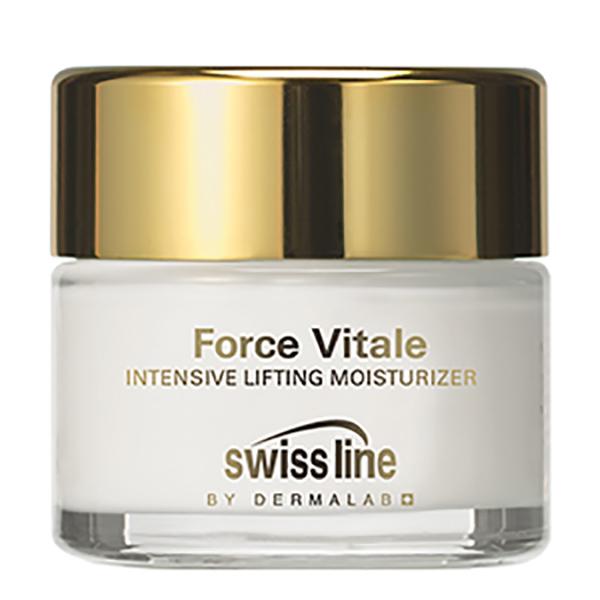Kem dưỡng ẩm và nâng đỡ da mặt chuyên sâu Swissline Force Vitale Intensive Lifting Moisturizer 50 ml