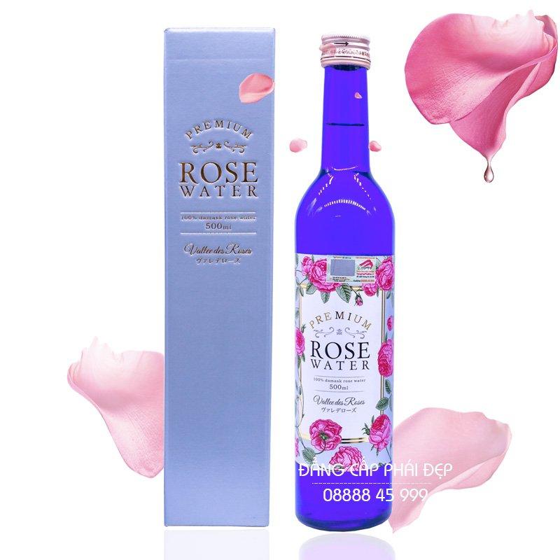 Nước Uống Hoa Hồng Rose Water 500ml Nhật Bản