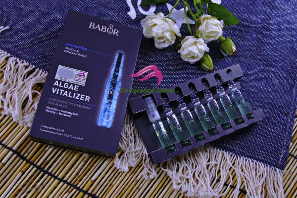 Tinh chất săn chắc, trắng sáng làn da tự nhiên: Babor Algae Vitalizer