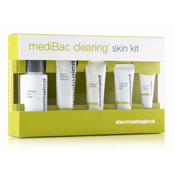 Bộ kit dưỡng dành cho da mụn Dermalogica MediBac Clearing Skin Kit