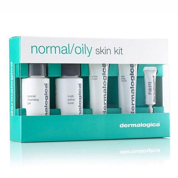 Bộ kit chăm sóc da dầu/thường Dermalogica Skin Care Basics – Normal/Oily Kit