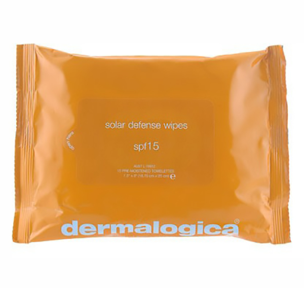 Khăn chống nắng Dermalogica Solar Defense Wipes SPF 15