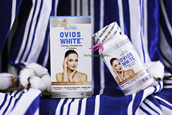 Viên uống trắng da toàn thân Nutra Botanics Ovios White