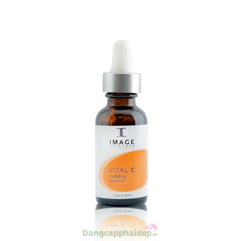 Image Vital C Hydrating Facial Oil 30ml - Tinh dầu massage chống lão hoá