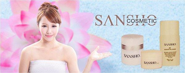 """Mỹ phẩm Sansho Nhật Bản -""""Cosmetainment – mang đến hạnh phúc viên mãn khi sử dụng mỹ phẩm"""""""
