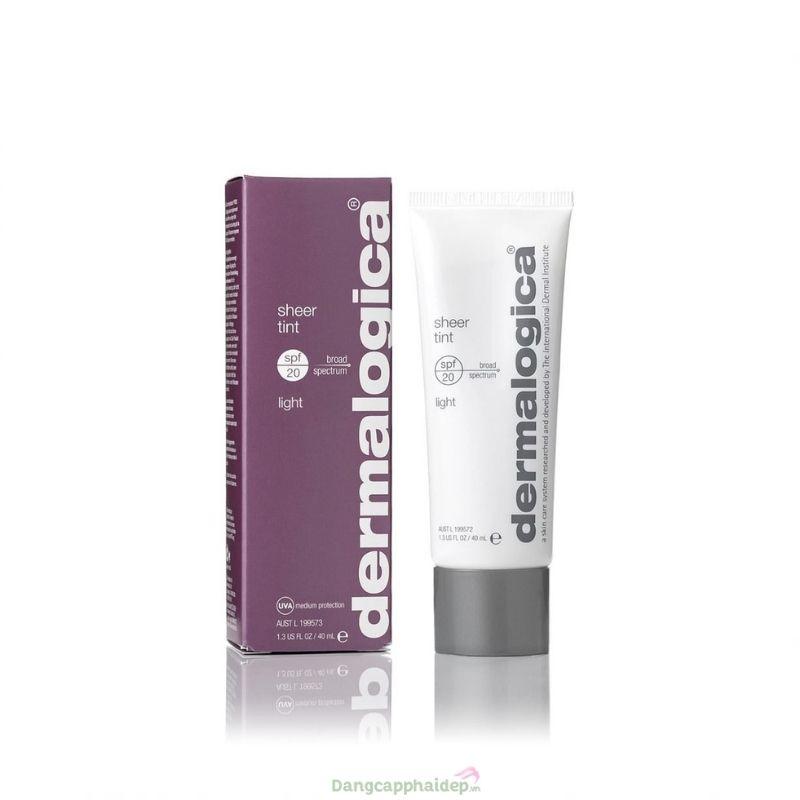 Dermalogica Sheer Tint Moisture SPF20 40ml (Light) - Kem trang điểm, chống nắng vượt trội đến từ Mỹ