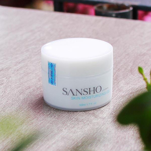 Kem dưỡng ẩm ban ngày Sansho Skin Moisturizing gel 50ml cho làn da căng mướt mịn màng như da em bé