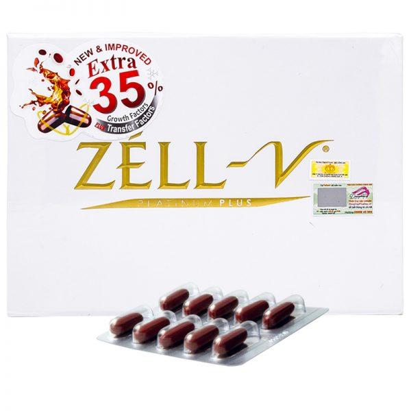 Zell V 30000mg - Viên Uống Nhau Thai Cừu New Zealand