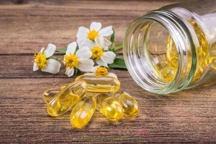 Kiên trì bôi vitamin e để cải thiện làn da, giảm giãn mao mạch hiệu quả