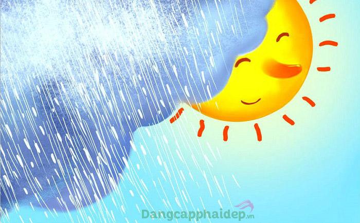 Gặp phải tình trạng suy giãn mao mạch do thời tiết thất thường