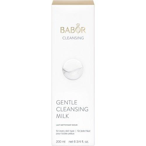 Sữa rửa mặt Babor Gentle Cleansing Milk 200ml làm sạch sâu cân bằng độ ẩm cho da