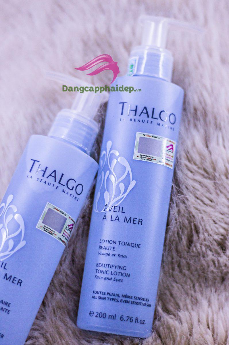 Nước hoa hồng Thalgo Beautifying Tonic Lotion 200ml dành cho mọi loại da