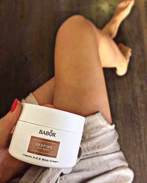 Top 5 tác dụng của kem dưỡng thể trắng da Babor Vitamin A-C-E Body Cream