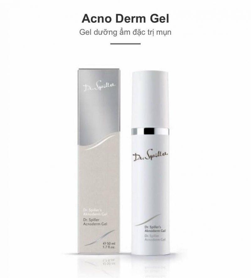 Dr Spiller Acno Derm Gel - Gel hỗ trợ trị mụn, ức chế dầu, kháng viêm từ tinh chất quế
